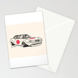 Crazy Car Art 0177 Stationery Cards