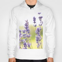 lavender Hoodies featuring lavender  by world pictured