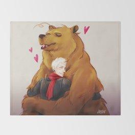APH: 2pBear hug Throw Blanket