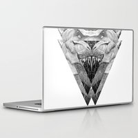 trex Laptop & iPad Skins featuring TREX by moln4rt