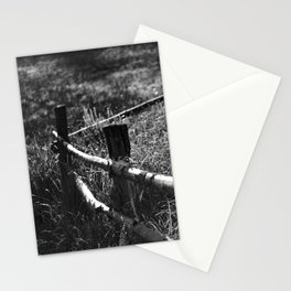 Black & White fance Stationery Cards