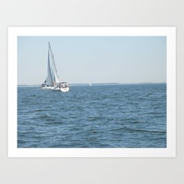 Sweet Day On the Bay Art Print
