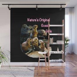 Nature's Original Gossip Girls Wall Mural