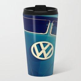 VW Throwback Metal Travel Mug