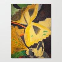 pasta Canvas Prints featuring Pasta by Stefanie Sharp