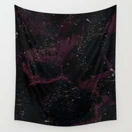 Geometric Galaxy Wall Tapestry