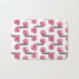 Subs and Roses Bath Mat