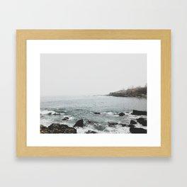Fort Williams Maine Framed Art Print