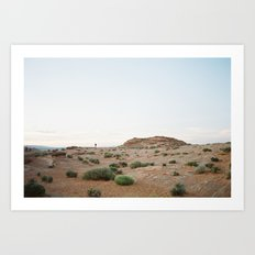 desert color in film Art Print