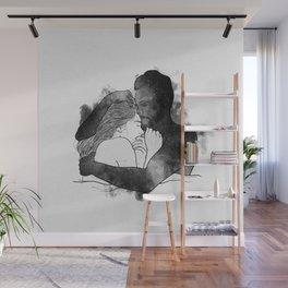 The hug. Wall Mural