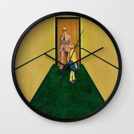 Embossed Wall Clock