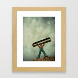 Las Vegas Genie Framed Art Print