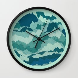 TOPOGRAPHY 006 Wall Clock