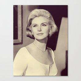 Joanne Woodward, Vintage Actress Canvas Print
