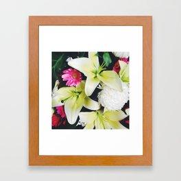 Flowers Galore Framed Art Print