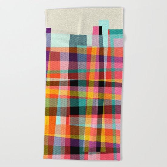 Fragments IX Beach Towel