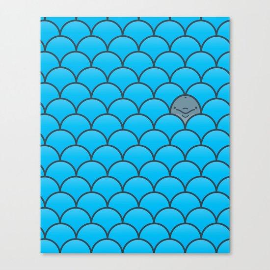 The Last Dolphin Canvas Print