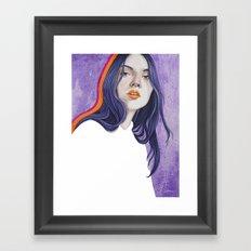 Close Up 18 Framed Art Print