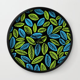 botanicalart Wall Clock