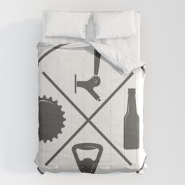 Pub Craft Beer Bottles style Fashion Modern Design Print! Set Beer Pub Brewery Handcrafted Comforters