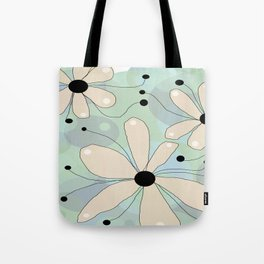 FLOWERY ASTA  / ORIGINAL DANISH DESIGN bykazandholly Tote Bag