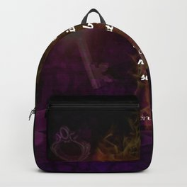 2 Corinthians 5:7 Bible Verse Quote About Faith Backpack
