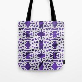 SILKY_GRID Tote Bag