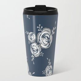 Vintage floral pattern Travel Mug
