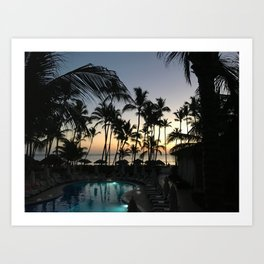 dreams from punta cana // the dominican republic Art Print