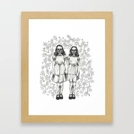 Play With Us Danny Framed Art Print