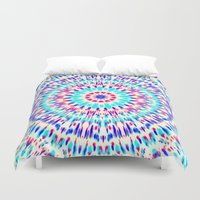 cosmic Duvet Covers featuring Cosmic by Abstracts by Josrick
