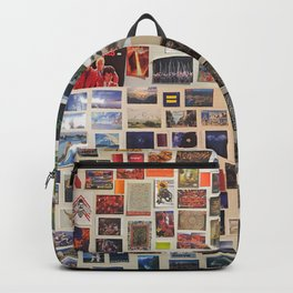 Postcards Wall Backpack