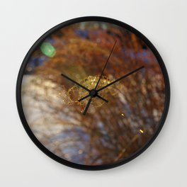Curl Wall Clock