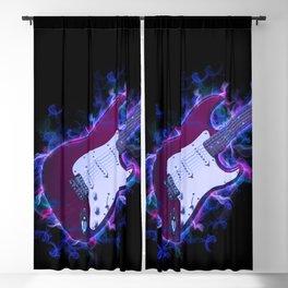Electric Guitar Blackout Curtain