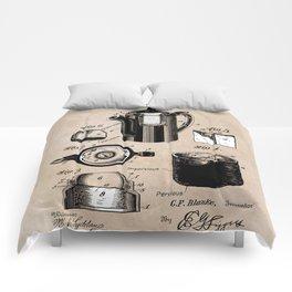 patent China Coffee pot - Blanke - 1909 Comforters