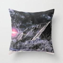 Stars will fall Throw Pillow