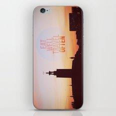 Eat Well Travel Often iPhone & iPod Skin