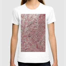 Japanese Handcrafted Dyed Paper Abstract Texture T-shirt