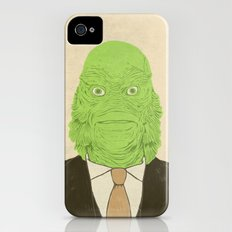 Young Professional from the Black Lagoon Slim Case iPhone (4, 4s)
