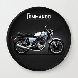 The 850 Commando Wall Clock