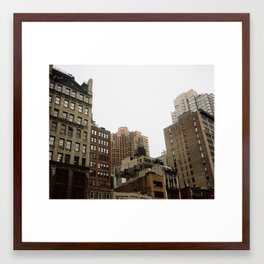 The Buildings Framed Art Print