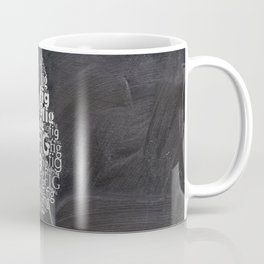 Fig on chalkboard Coffee Mug