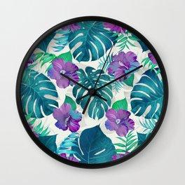 My Tropical Garden 20 Wall Clock