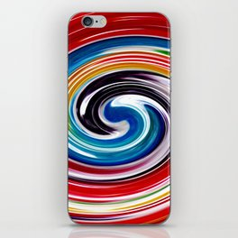 Lollipop Swirls - Rainbow iPhone Skin