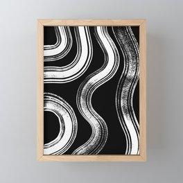 Modern Black + White Framed Mini Art Print