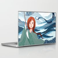 saga Laptop & iPad Skins featuring The Banner Saga by Tori