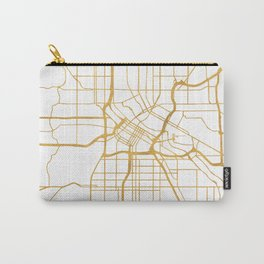 MINNEAPOLIS MINNESOTA CITY STREET MAP ART Carry-All Pouch