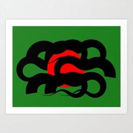 Abstraction 003 Art Print