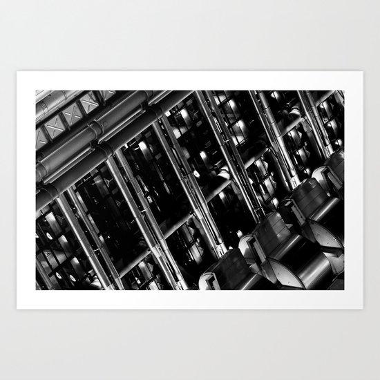Lloyd's of London Absract Art Print