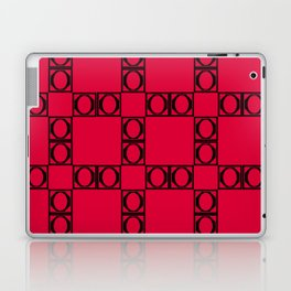 angle black & red Laptop & iPad Skin